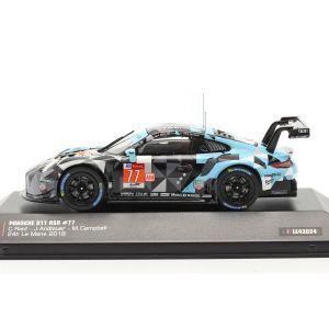 Porsche 911 (991) RSR #77 Ganador LMGTE Am 24h LeMans 2018 1/43