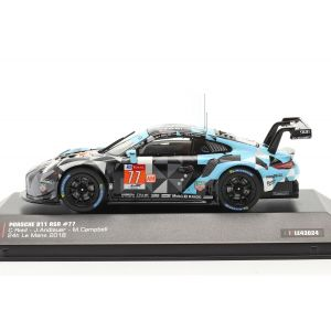 Porsche 911 (991) RSR #77 Winner LMGTE Am 24h LeMans 2018 1/43