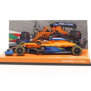 Lando Norris - McLaren Renault MCL35 - 1. Podium Österreich GP F1 2020 1:43