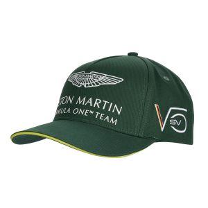 Aston Martin F1 Official Sebastian Vettel Kinder Cap grün