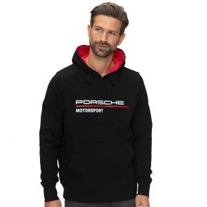 Porsche Motorsport Sudadera con capucha negra