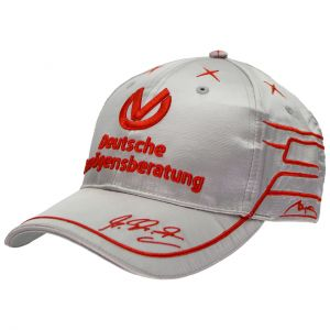 Michael Schumacher Gorra de piloto DVAG 2011