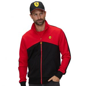Scuderia Ferrari Chaqueta negro / rojo