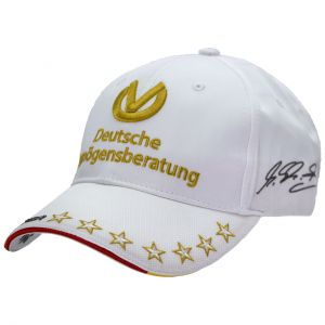 Michael Schumacher DVAG Cap 2013 Links