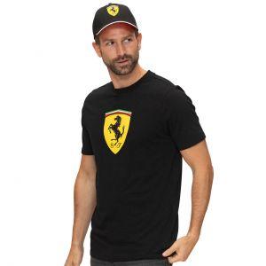 Maglietta Scuderia Ferrari Classic nero
