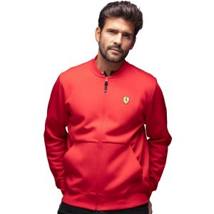 Scuderia Ferrari Sweat Jacket rouge