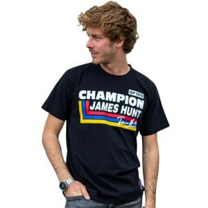 James Hunt T-Shirt Silverstone