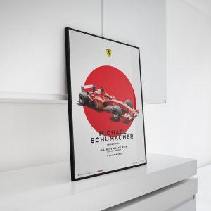 Castel Michael Schumacher - Ferrari F2002 - GP de Japón 2002