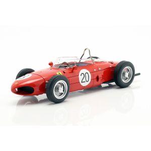 W. Graf Berghe v. Trips Ferrari 156 Sharknose #20 Francia GP F1 1961 1/18