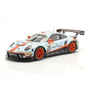 Porsche 911 GT3 R #20 Gagnant 24h Spa 2019 Dirty Race Version 1/18