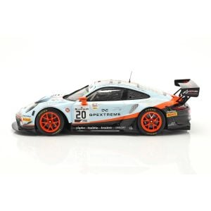 Porsche 911 GT3 R #20 Winner 24h Spa 2019 Dirty Race Version 1/18