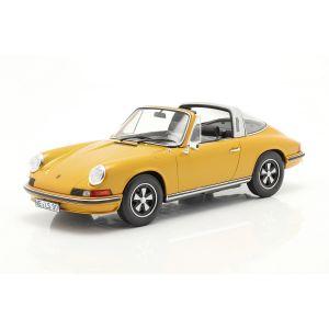 Porsche 911 S Targa Año de fabricación 1973 oro metálico 1/18