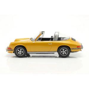 Porsche 911 S Targa Année de fabrication 1973 or métallique 1/18