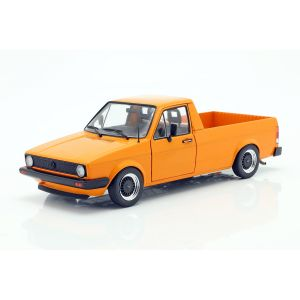 VW Caddy MK1 Baujahr 1982 orange 1:18