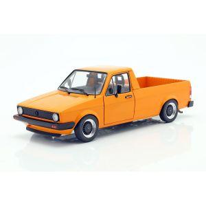 VW Caddy MK1 Year of manufacture 1982 orange 1/18