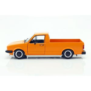 VW Caddy MK1 Année de fabrication 1982 orange 1/18