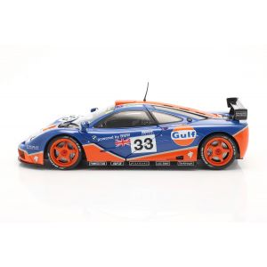 McLaren F1 GTR #33 9th 24h LeMans 1996 Gulf Racing 1/18