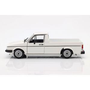 VW Caddy MK1 Año de fabricación 1982 blanco 1/18