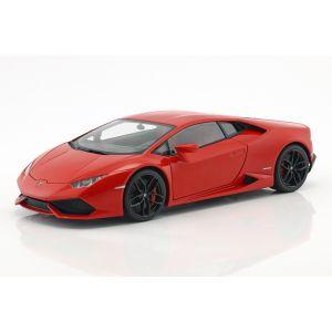 Lamborghini Huracan LP610-4 Année de fabrication 2014 rouge métallique 1/18