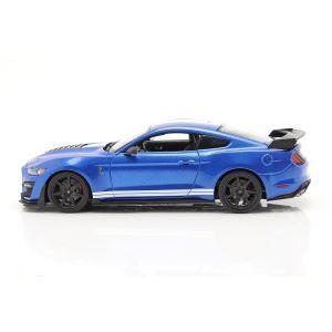 Ford Mustang Shelby Année de fabrication 2020 bleu 1/18