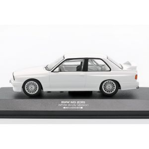 BMW M3 (E30) Sport Evolution DTM 1992 Plain Body Version blanc 1/43