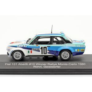Fiat 131 Abarth #10 Sieger Rallye Monte Carlo 1980 Röhrl, Geistdörfer 1:43