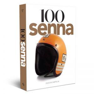 Livro 100 Senna (Capa Capacete)