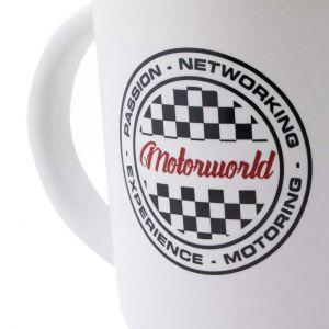 Motorworld Kaffeebecher Boxengasse