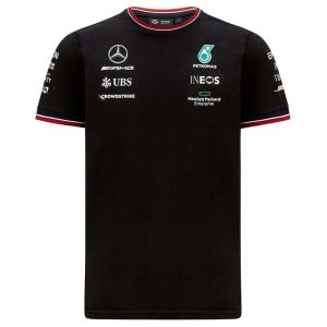 Mercedes-AMG Petronas Team Sponsor T-Shirt 2021 black