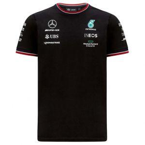 Mercedes-AMG Petronas Team Sponsor T-Shirt 2021 noir