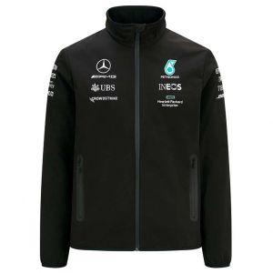 Mercedes-AMG Petronas Team Chaqueta softshell 2021 negra