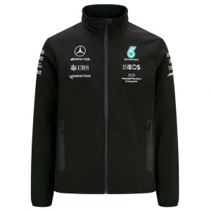 Mercedes-AMG Petronas Team Softshell Jacket 2021 black