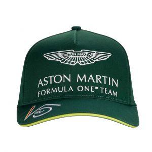 Aston Martin F1 Official Sebastian Vettel Casquette vert