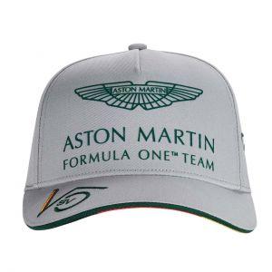 Aston Martin F1 Official Sebastian Vettel Cappuccio grigio