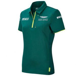 Aston Martin F1 Official Team Polo de mujer