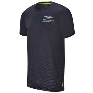 Aston Martin F1 Official Lifestyle Technical T-shirt noir