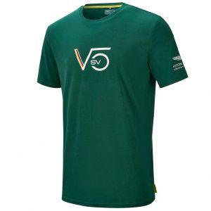 Aston Martin F1 Official Sebastian Vettel Camiseta verde