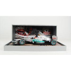 Michael Schumacher Mercedes GP W03 2012 Dernière course 1:18