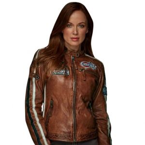 Gulf Jacket Lady Racing cognac