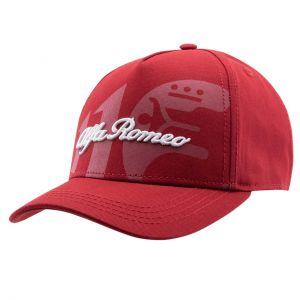 Alfa Romeo Lifestyle 110 Cappello classico rosso