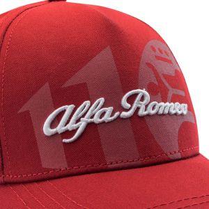 Alfa Romeo Lifestyle 110 Gorra clásica roja