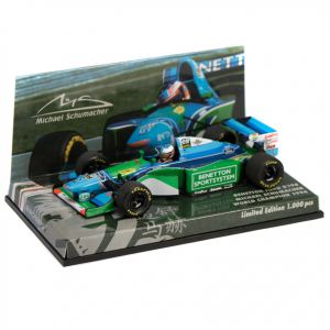 Michael Schumacher Benetton Ford B194 World Champion 1994 1/43