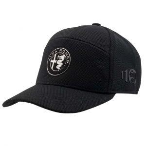 Alfa Romeo Lifestyle 110 Cap Emblem schwarz