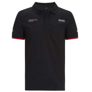 Porsche Motorsport Team Polo shirt black