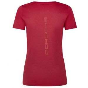 Porsche Motorsport Ladies T-Shirt red