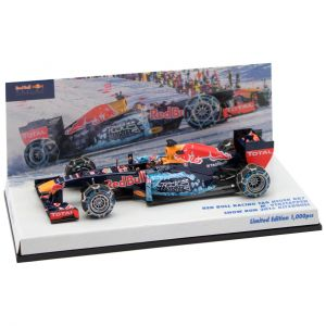 Max Verstappen Red Bull Racing Tag Heuer RB 7 Snow Run 2016 Kitzbühel 1/43