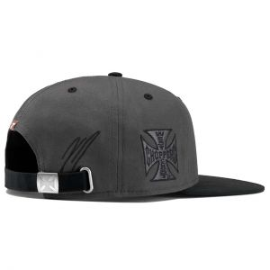 Kimi Räikkönen Cap Black Label Flatbrim grey-black