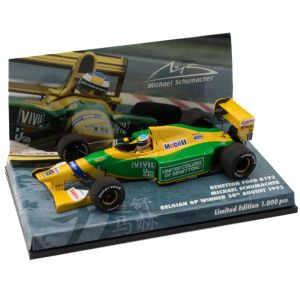 Michael Schumacher Benetton Ford B192 Belgium GP 1992 1:43