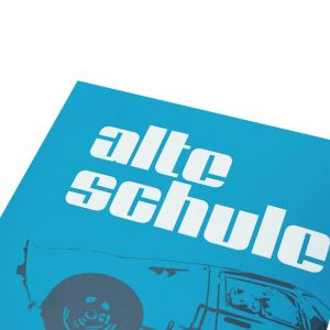 Alte Schule Sticker Set angular and round