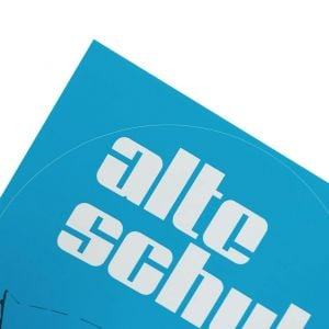 Alte Schule Sticker Set round